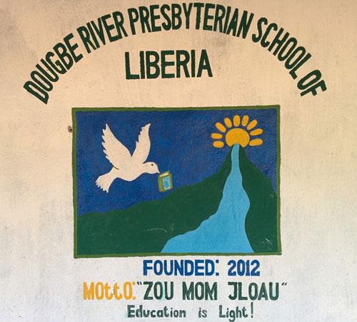 Dougbe River Presbyterian School